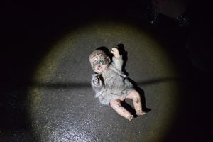 Creepy doll!