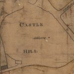Extract of John Ainslie's map, 1780